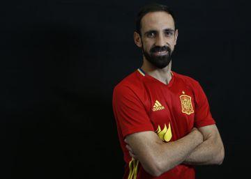 """Juanfran: """"Tras lo del penalti, tenía ganas de calzarme las botas otra vez"""""""