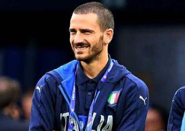 Italia se encomienda a Bonucci