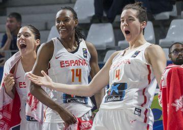 La selección femenina de baloncesto logra el billete para los Juegos de Río
