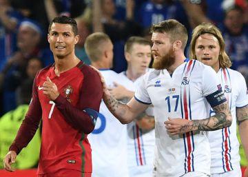 Cristiano y la 'pequeña mentalidad' de Islandia