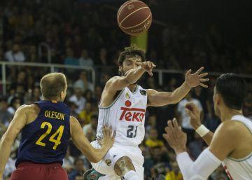 Llull y Ayón hacen volar al Madrid en el Palau