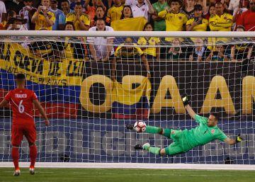 Colombia se mete en semifinales gracias a un gigante Ospina