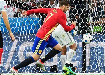 Los goles de España alteran la tendencia de la Eurocopa