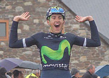 Quintana le regala a Marc Soler su primera victoria como profesional