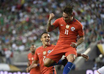 O futebol total do Chile atropela o México: 7x0