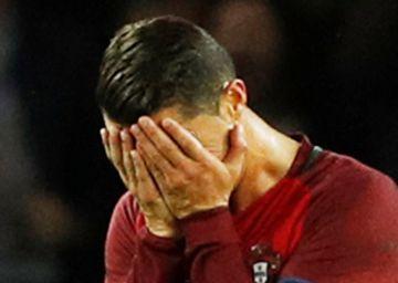 Cristiano falla el 40% de los penaltis con Portugal