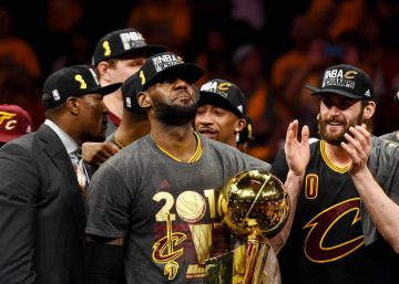 Los Cavaliers conquistan el anillo con un grandísimo LeBron James