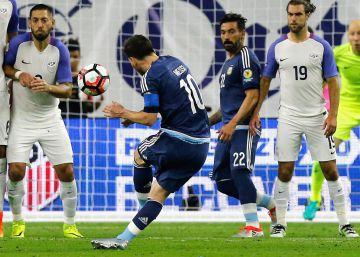 América solo tiene ojos para Messi