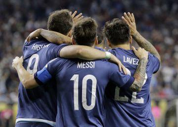 Argentina ajusta la puntería