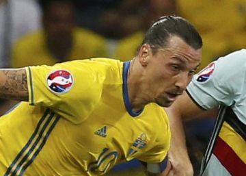Ibrahimovic se despide con un solo tiro a puerta