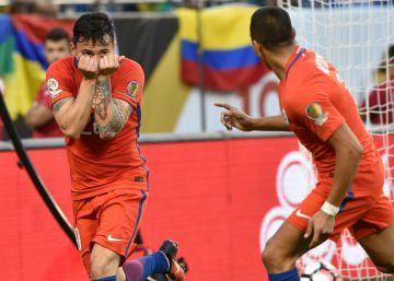 Chile vence a Colombia y estará en la final de la Copa América