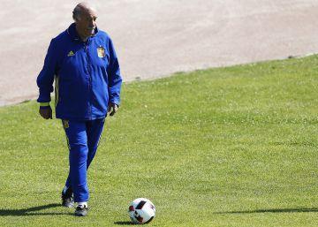"""Del Bosque: """"No he pensado que este pueda ser mi último partido"""""""