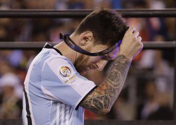 Y Leo terminó llorando su desgracia