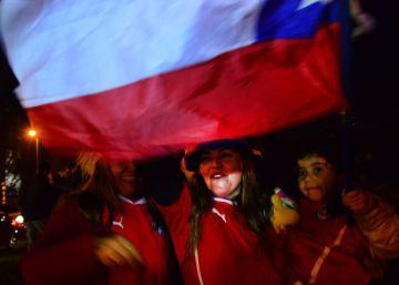 La Roja enloquece a su país