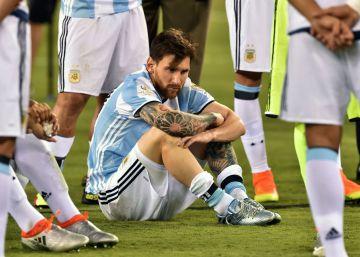 Messi anuncia que não joga mais pela seleção argentina