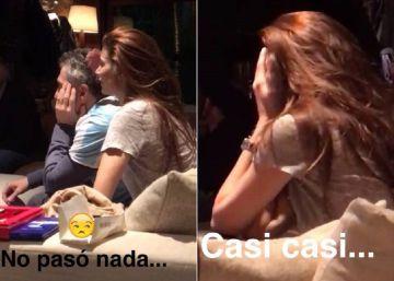 Macri mostró en Snapchat cómo vivió en su casa la final de la Copa América