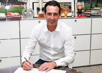 El PSG hace oficial el fichaje de Emery