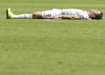 Lewandowski no luce