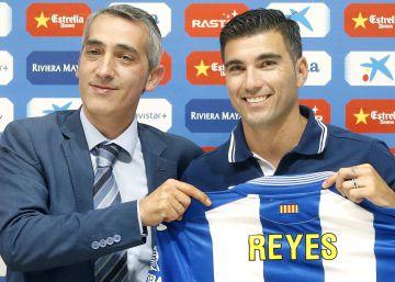 """Reyes: """"Llego al Espanyol con la ilusión de un niño"""""""