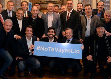 Los campeones de México 86 piden el regreso de Lionel Messi