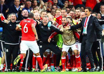 Gales gana a Bélgica y hace historia al clasificarse para las semifinales de la Eurocopa