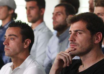 """Xavi: """"Me sorprendieron las palabras de Del Bosque sobre Casillas"""""""
