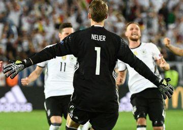 Alemania, tres horas para ganar a Italia desde el punto de penalti