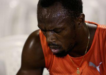 Usain Bolt busca su curación en la vorágine de la Eurocopa