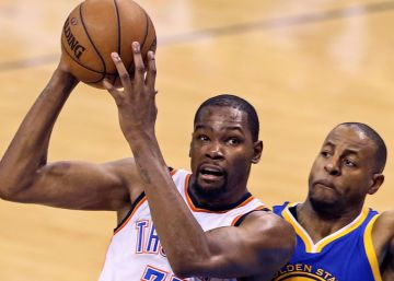 Kevin Durant ficha por los Warriors