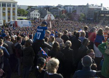 El fútbol desata el orgullo vikingo de Islandia