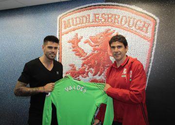 Valdés se va con Karanka a la Premier