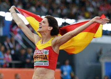 Ruth Beitia gana su tercer oro europeo consecutivo
