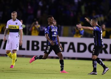 Boca cae en Ecuador pero se trae un gol de visitante a Buenos Aires
