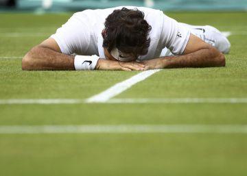 Federer se desinfla ante Raonic