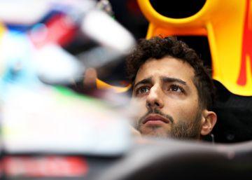 Ricciardo pierde media sonrisa