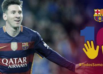 'Liberado' Neymar, ahora toca defender a Messi