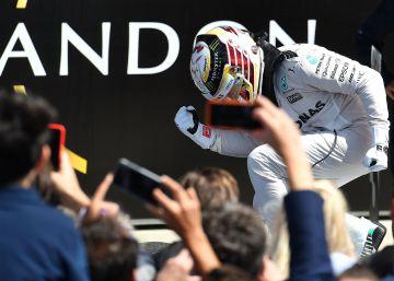 Hamilton gana, Verstappen brilla