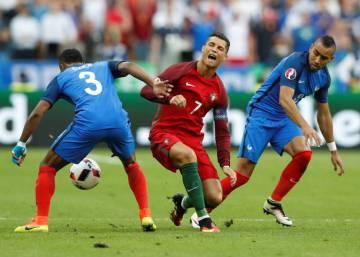 La final de la Eurocopa, en imágenes