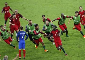 Casi 10 millones de espectadores siguieron la victoria de Portugal en la Eurocopa