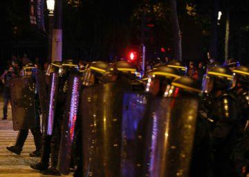 40 detenidos en París en los altercados registrados tras la final de la Eurocopa