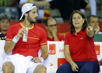 Feliciano López adelanta a España ante Rumanía