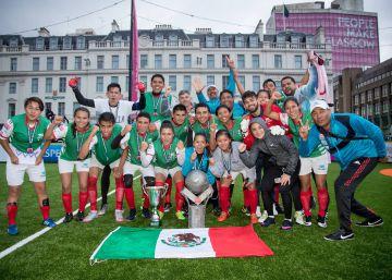 México vuelve a brillar en el fútbol de los pobres