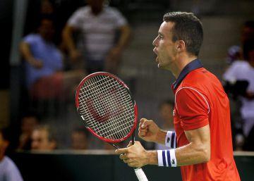 Bautista da el punto definitivo a España ante Rumania en la Copa Davis