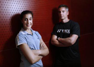 Carolina Marín charla con su entrenador sobre el sueño olímpico