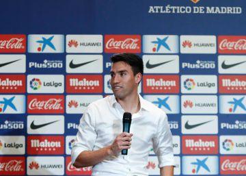 Nicolas Gaitán es presentado en el Atlético de Madrid