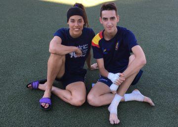 Así se preparan Eva Calvo y Jesús Tortosa para los Juegos