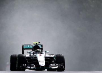Frenética pole de Rosberg