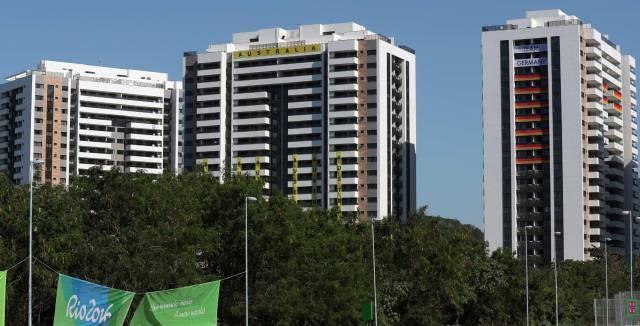 Imagen del edificio donde se aloja Australia en la Villa Olímpica.