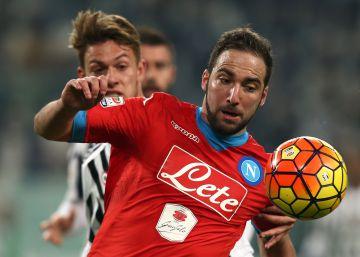 La Juventus rompe la banca con Higuaín