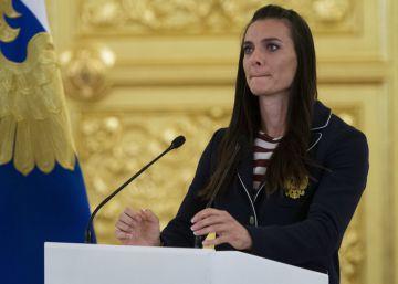 Isinbayeva tira la toalla